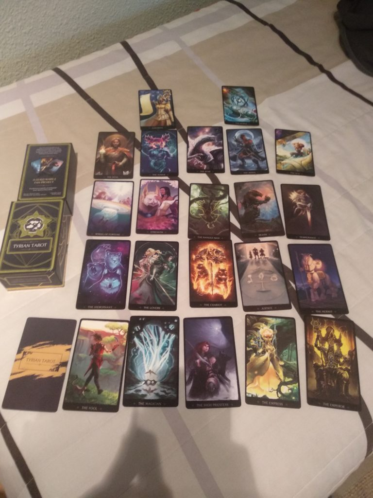 Tyrian Tarot Major Arcana